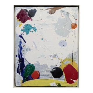 John Seery - Abstract of Multi Colors -Oil Painting For Sale