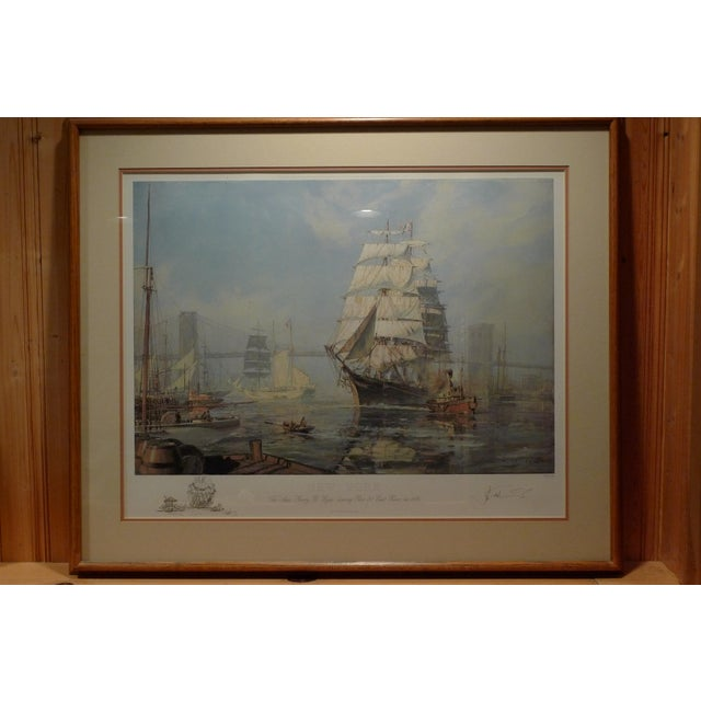 "John Stobart ""New York, Henry B. Hyde"" Limited Edition Print - Image 2 of 5"
