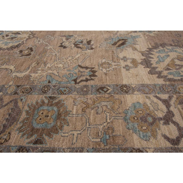 """Wool Sultanabad Rug - 6'9"""" x 9'10"""" - Image 6 of 7"""