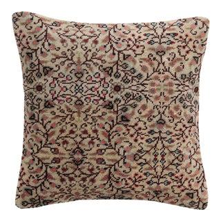 Vintage Traditional Carpet Pillow For Sale