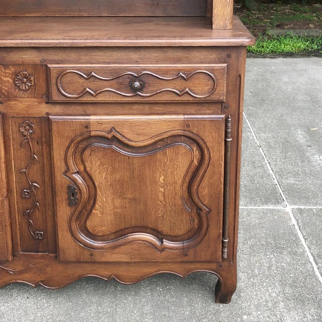Brown 19th Century Country French Vaisselier ~ Buffet For Sale - Image 8 of 13