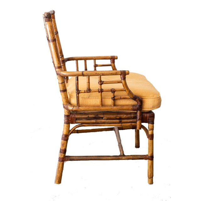 Traditional McGuire Bamboo Side Chairs- a Pair For Sale - Image 3 of 12