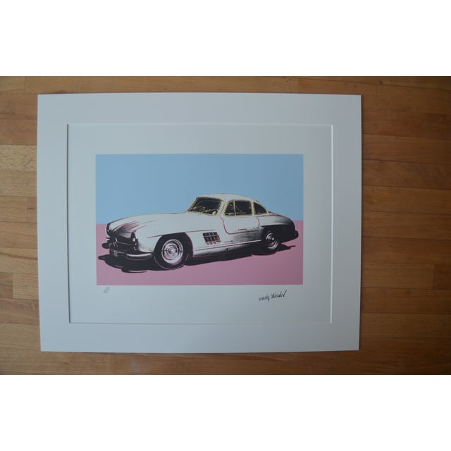Andy Warhol Mercedes Benz - Image 2 of 5