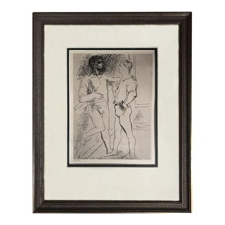 Pablo Picasso Etching # 2 For Sale