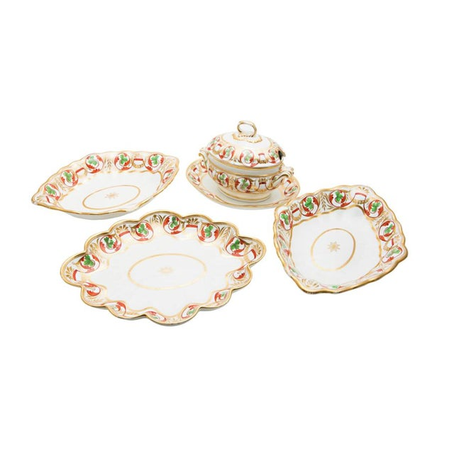 Early 19th Century Derby Dishes - Set of 4 For Sale - Image 11 of 11