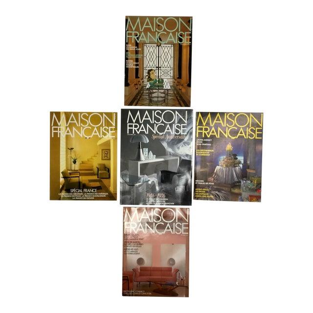 French Interior Decorating Magazines - Set of 5