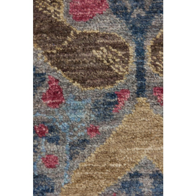 "Arts & Crafts Arts & Crafts Hand Knotted Area Rug - 5'1"" X 7'10"" For Sale - Image 3 of 3"