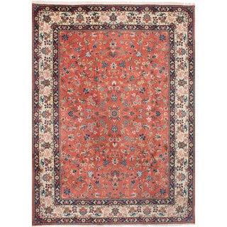"""Yazd Vintage Persian Rug, 8'2"""" x 11'6"""""""