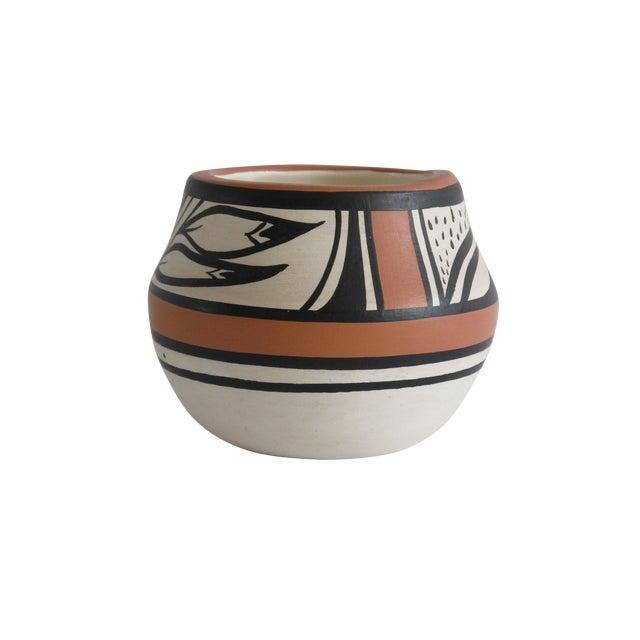 Navajo Painted Vase - Image 1 of 6