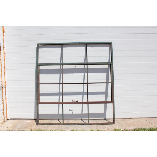 Antique style factory casement metal window. We have 10 available. Please note that we sell only metal frame Without...