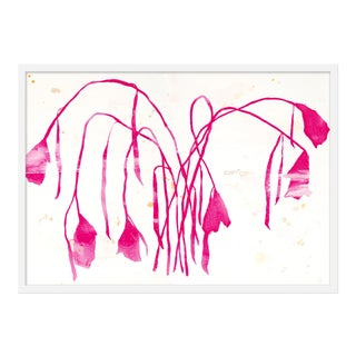 "Medium ""Pink Daffodil"" Print by Kate Roebuck, 35"" X 25"" For Sale"