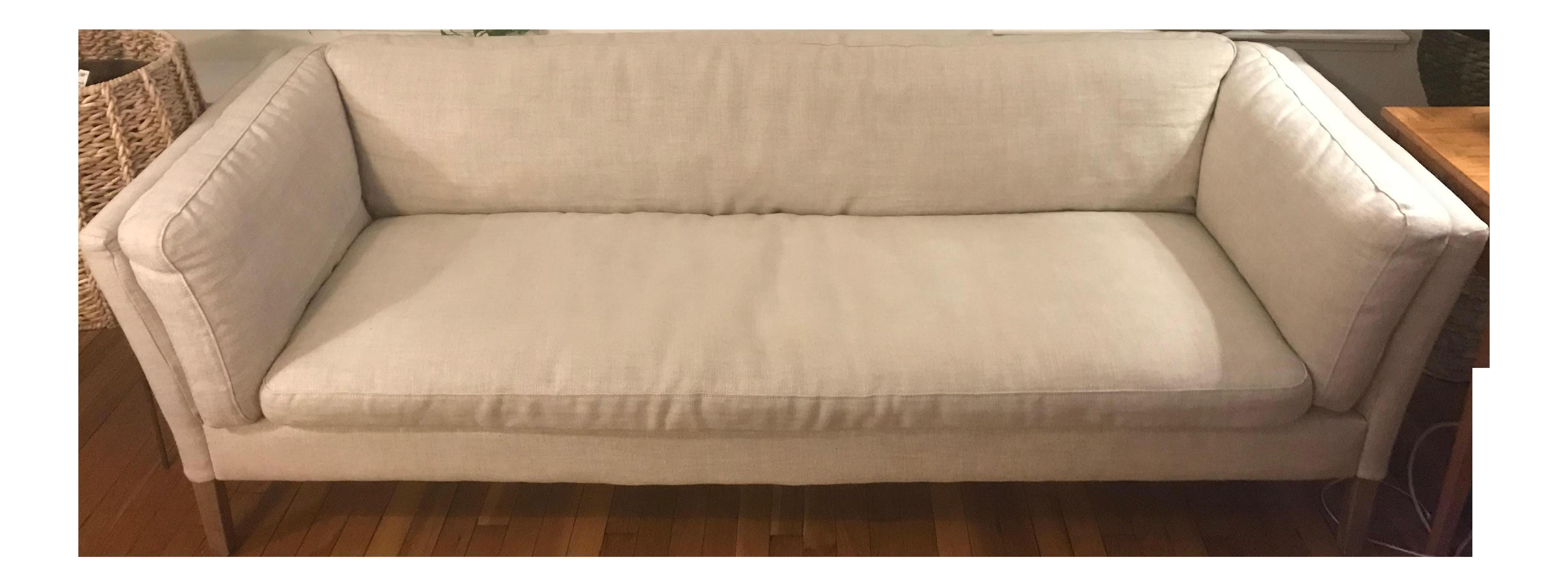 Bon Restoration Hardware Sorensen Mid Century Sofa