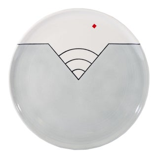 Michael Duvall Signed 1982 Postmodern Plate For Sale