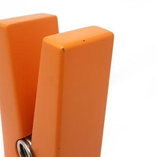 Vintage Orange Clothes Pin Paperweight Preview