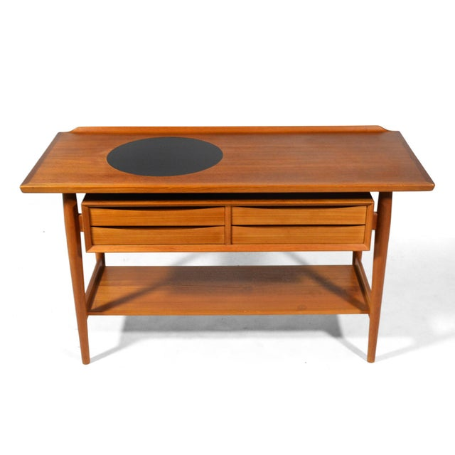 Arne Vodder Server / Console Table by Sibast For Sale In Chicago - Image 6 of 11