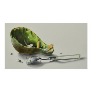 Stefan Beltzig, Avocado and Spoon For Sale