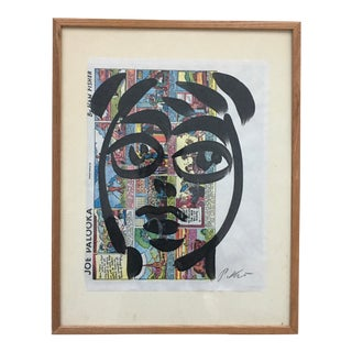 Peter Keil Abstract on Comic Strip For Sale