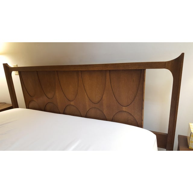 Beautiful Broyhill Brasilia Queen size headboard in good vintage condition. Headboard is excellent condition, some light...