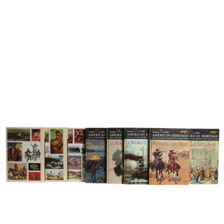 American Heritage History Book Set, S/16 For Sale