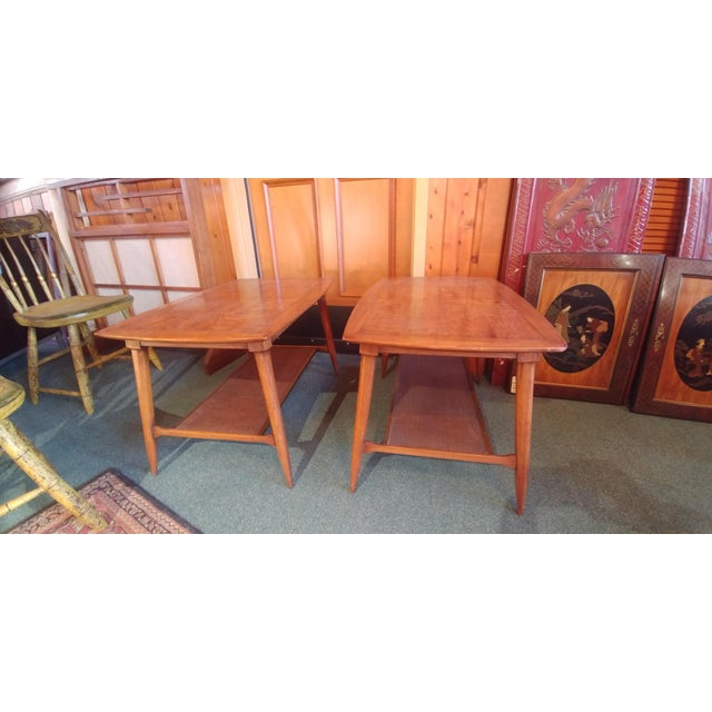 Mid Century Modern Tomlinson Sophisticate End Tables - a Pair For Sale In Philadelphia - Image 6 of 6
