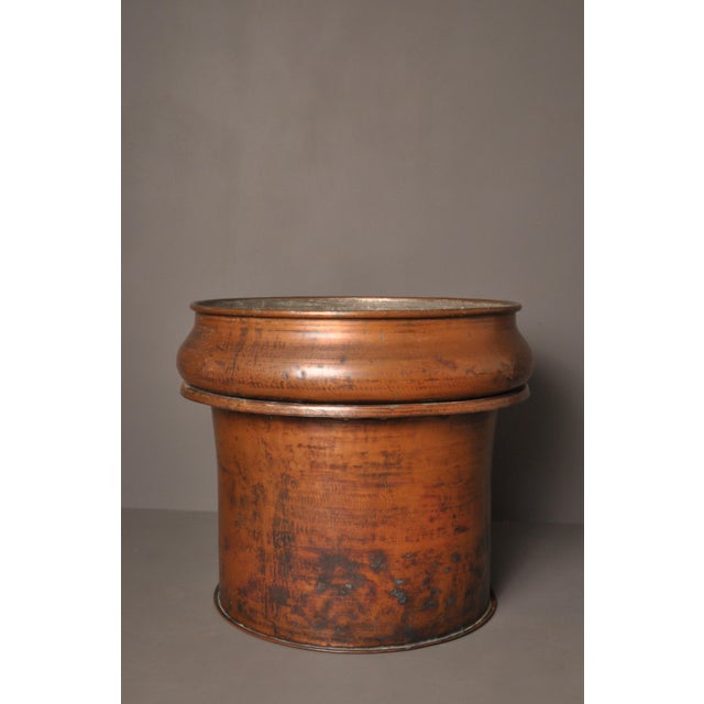 Large Copper Pot, Switzerland, 1940s For Sale - Image 10 of 10