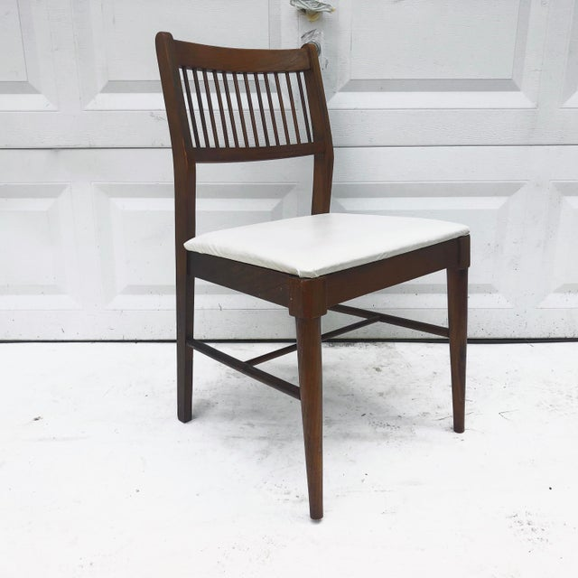 Mid-Century Spoke Back Chair by Johnson Carper For Sale - Image 11 of 11