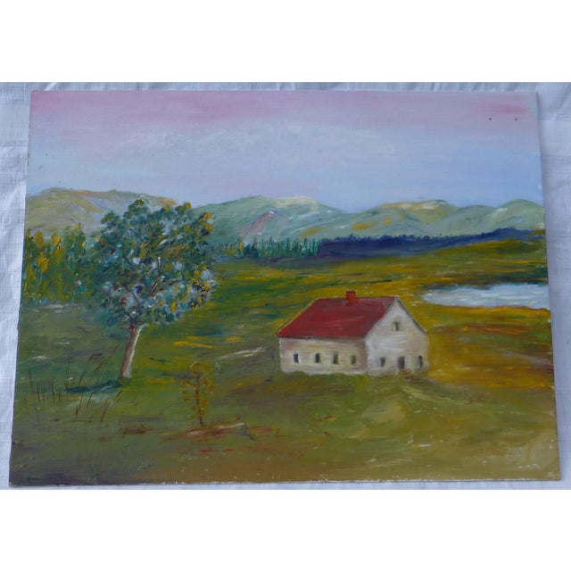 MCM Painting Rural Scene by H.L. Musgrave - Image 2 of 6