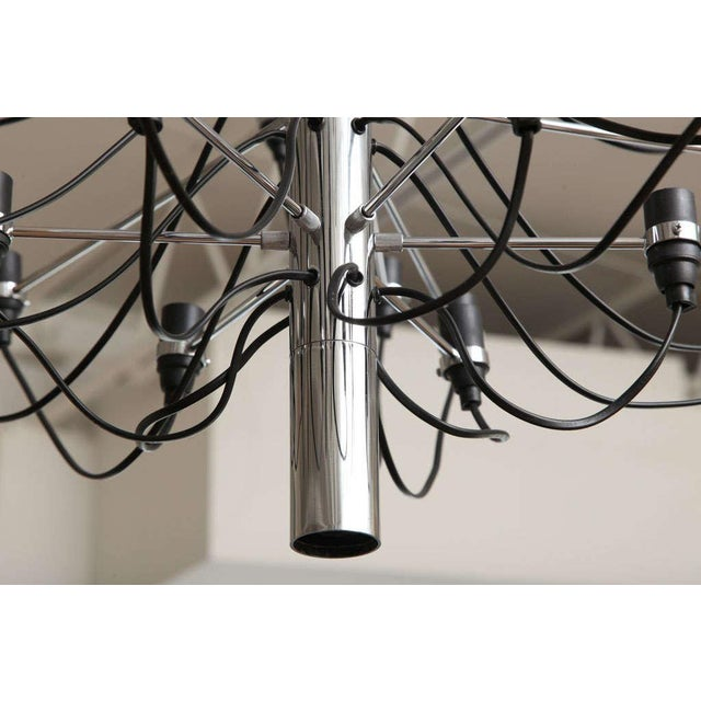 1980s Gino Sarfatti Flos Chandelier For Sale - Image 5 of 11