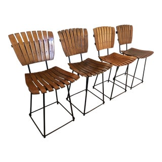 Mid Century Arthur Umanoff Dining Chairs- Set of 4 For Sale