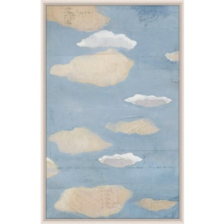 Paule Marrot, Les Nuages 3, Framed Artwork For Sale