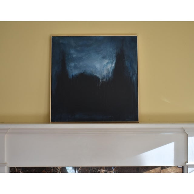 """Modern """"The Abbey in Moonlight"""" Painting by Stephen Remick For Sale - Image 9 of 10"""