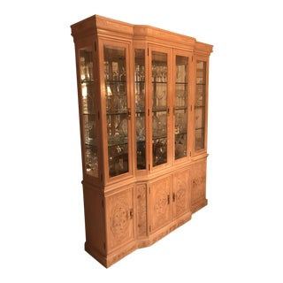 Henredon Lighted Hutch For Sale
