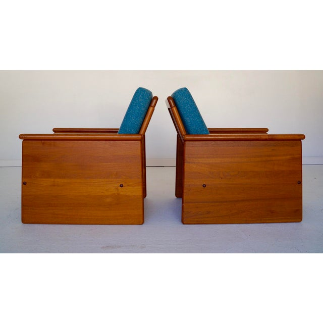 Vintage Tarm Stole Teak Lounge Chairs - A Pair For Sale In Los Angeles - Image 6 of 10