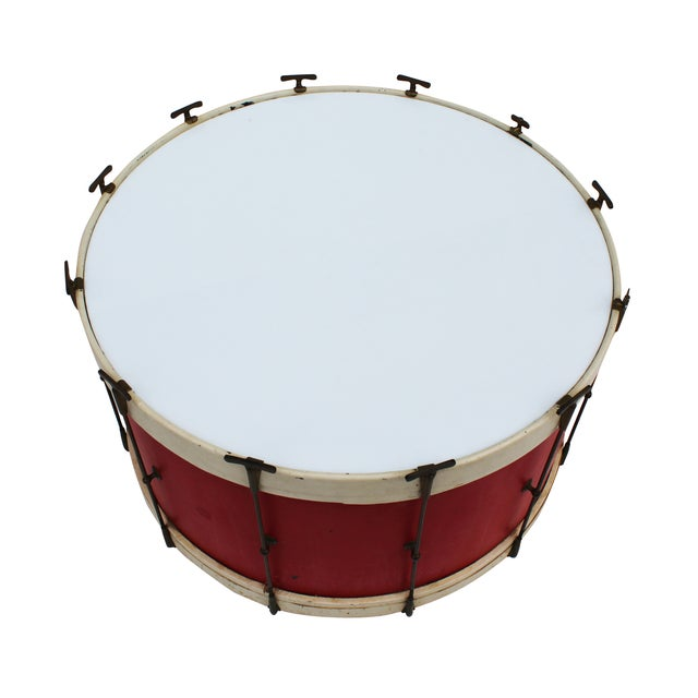 Round Drum Table on Casters - Image 4 of 6