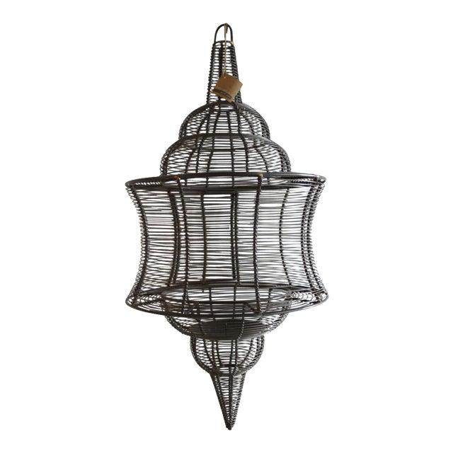 West Elm Pendant Candle Lantern - Image 1 of 8