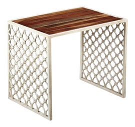Image of Iron Outdoor Side Tables