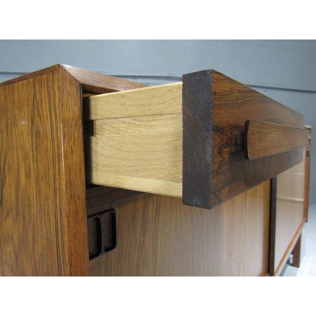 Rosewood 1960s Danish Modern Bordum Og Nielsen Rosewood Sideboard For Sale - Image 7 of 12