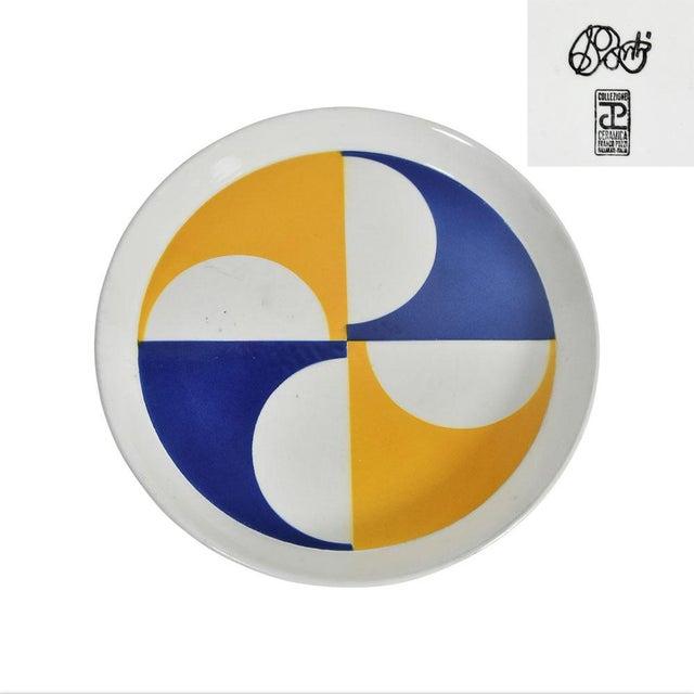 Gio Ponti for Franco Pozzi Ceramic Plates For Sale - Image 11 of 12