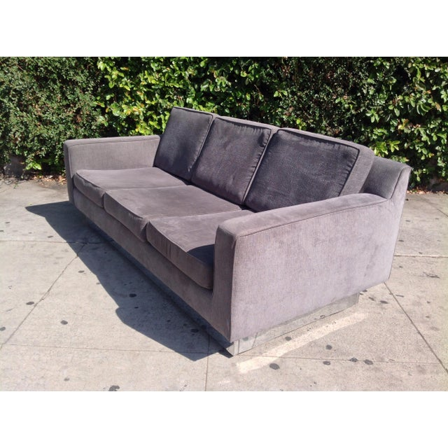 Modern 1970's Three Seater Sofa Designed by Harvey Probber For Sale - Image 3 of 4