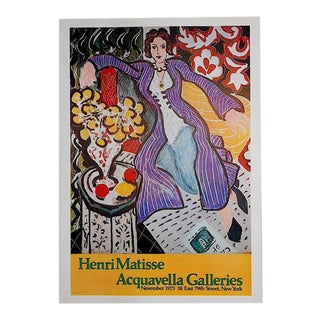 Vintage Signed Lithograph Poster-Henri Matisse For Sale