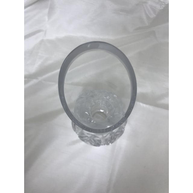 Glass Waterford Caprice Lead Crystal Carafe For Sale - Image 7 of 10
