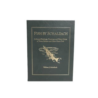 'Fish by Schaldach: Etchings, Drawings and Water Colors' Book For Sale