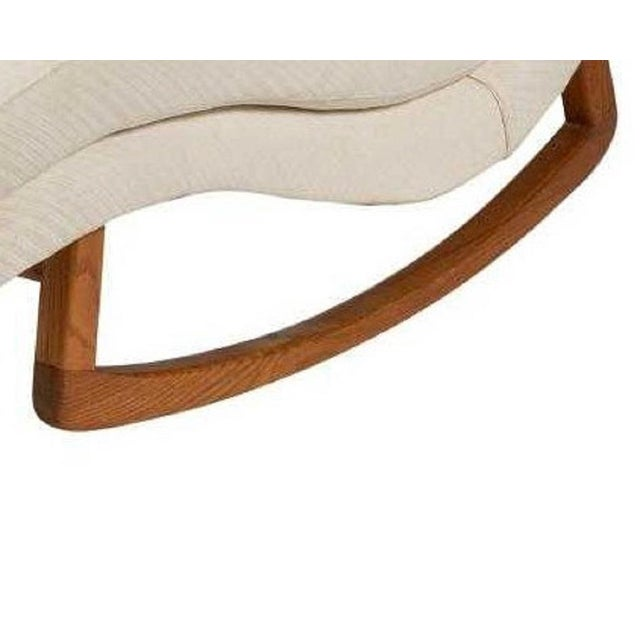 Mid-Century Modern Adrian Pearsall Style Wave Lounge For Sale - Image 3 of 5