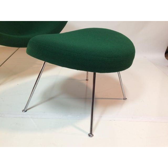 Coconut Chair With Ottoman For Sale - Image 10 of 11