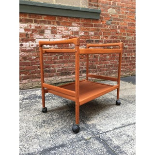 Dyrlund Danish Teak Rolling Cart Preview