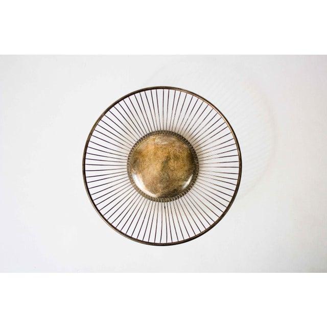 Mid-Century Modern Vintage Silverplate Fruit Basket For Sale - Image 3 of 6