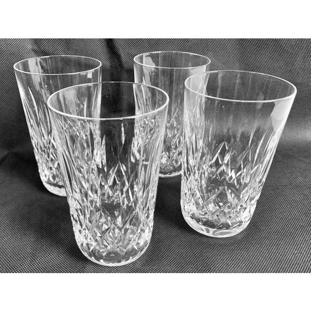 """Waterford""""Lismore"""" Pattern Highball/Tumbler Glasses - Set of 4 For Sale - Image 11 of 11"""