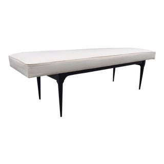 Italian Upholstered Bench For Sale