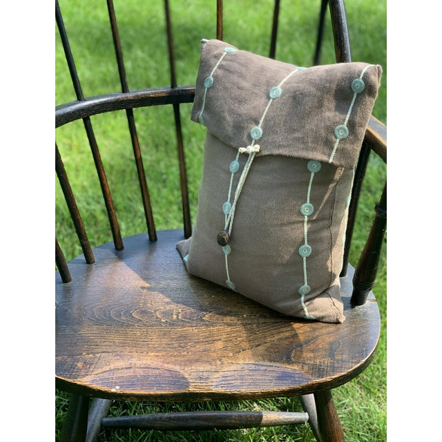 Wooden Windsor Firehouse Chair For Sale - Image 12 of 13
