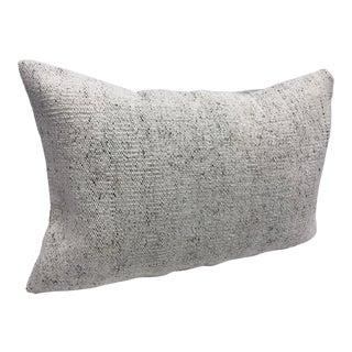 Turkish Anatolian Natural Vintage Lumbar Pillow Cover For Sale